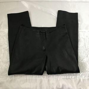 Brandon Thomas black leather pants size 14 #2